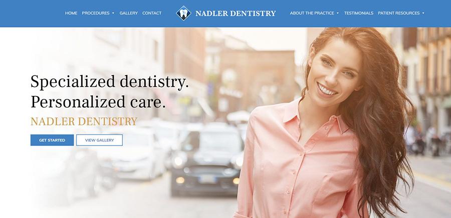 Nadler Dentistry banner image